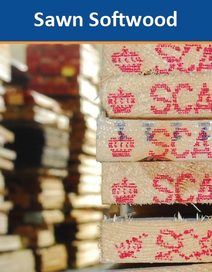 Sawn Softwood Timber Product