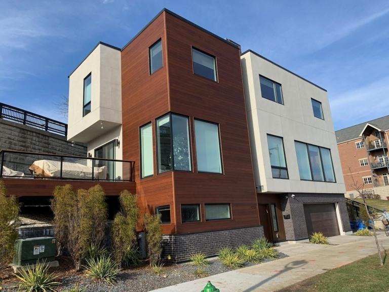 LIGNIA cladding on house - Milwaukee